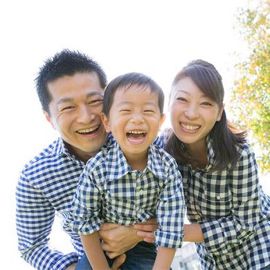 両親に贈る家族写真