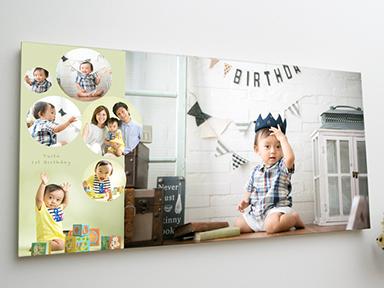家族写真デザインパネル